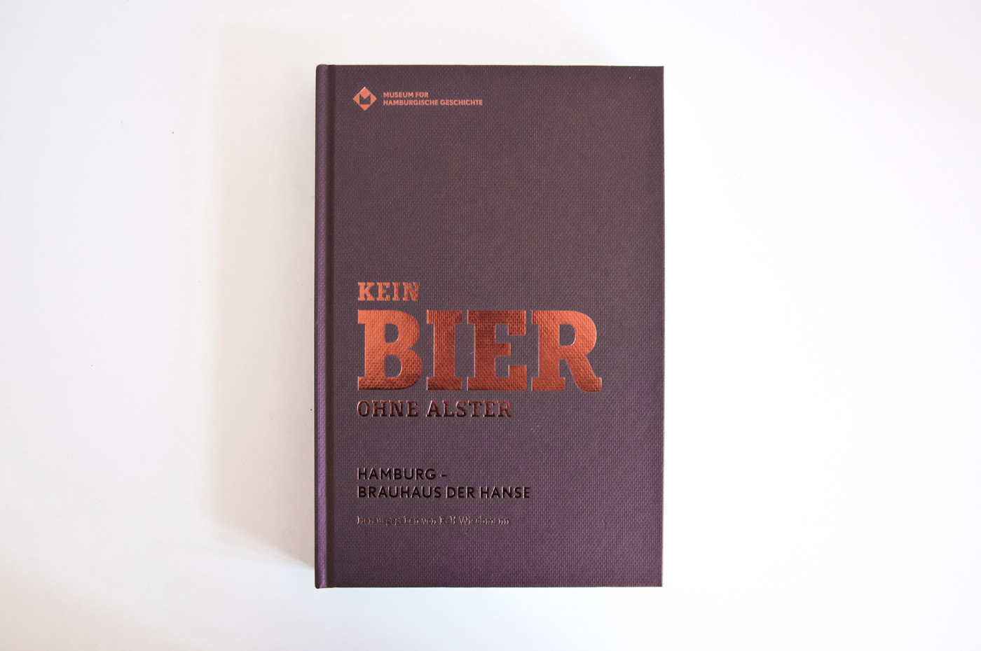Fonts In Use Kein Bier Ohne Alster Exhibition 20 Muriza