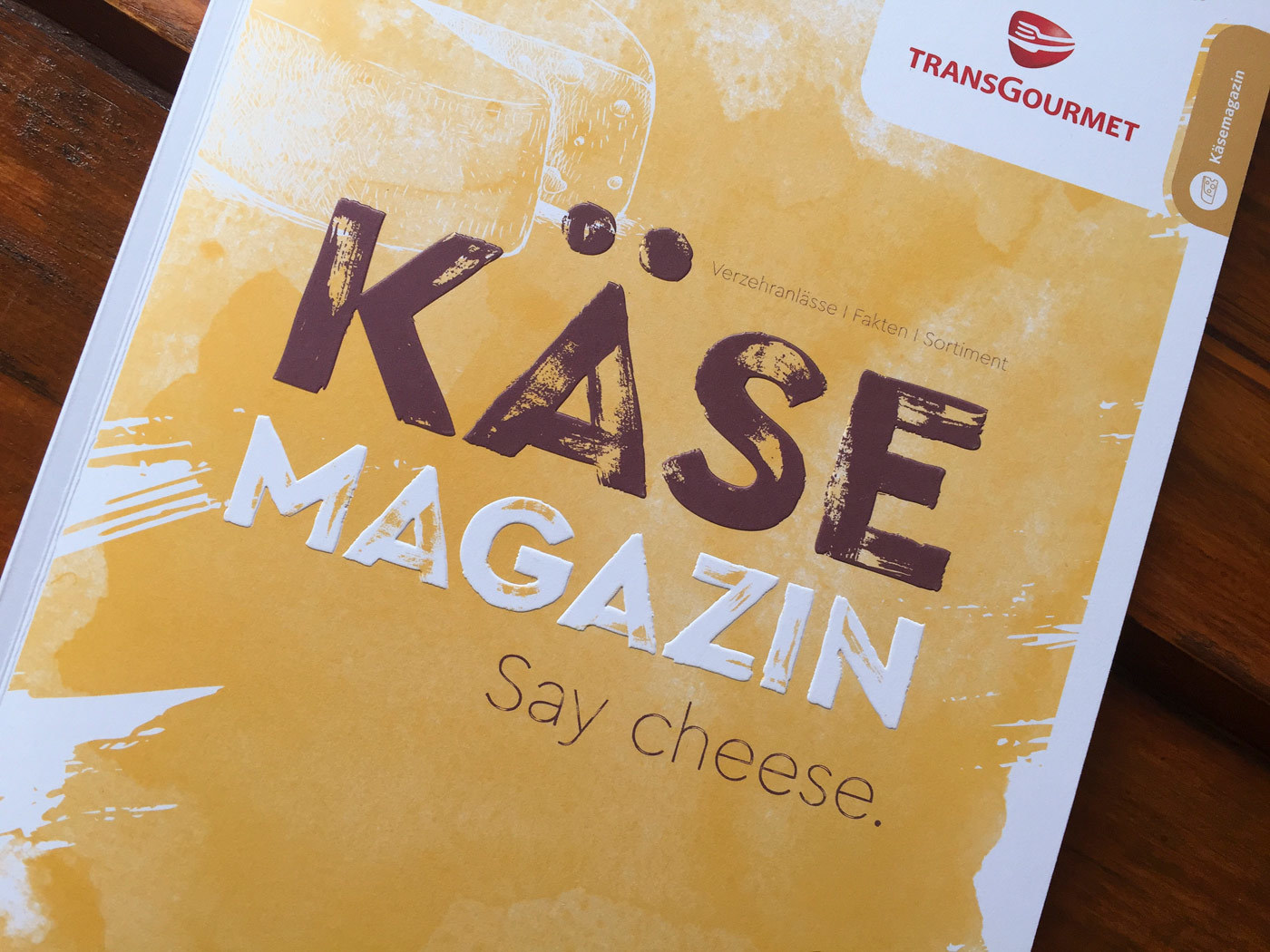 Fonts In Use Trans Gourmet Kaese Magazin Milk Design 05 Cera Brush