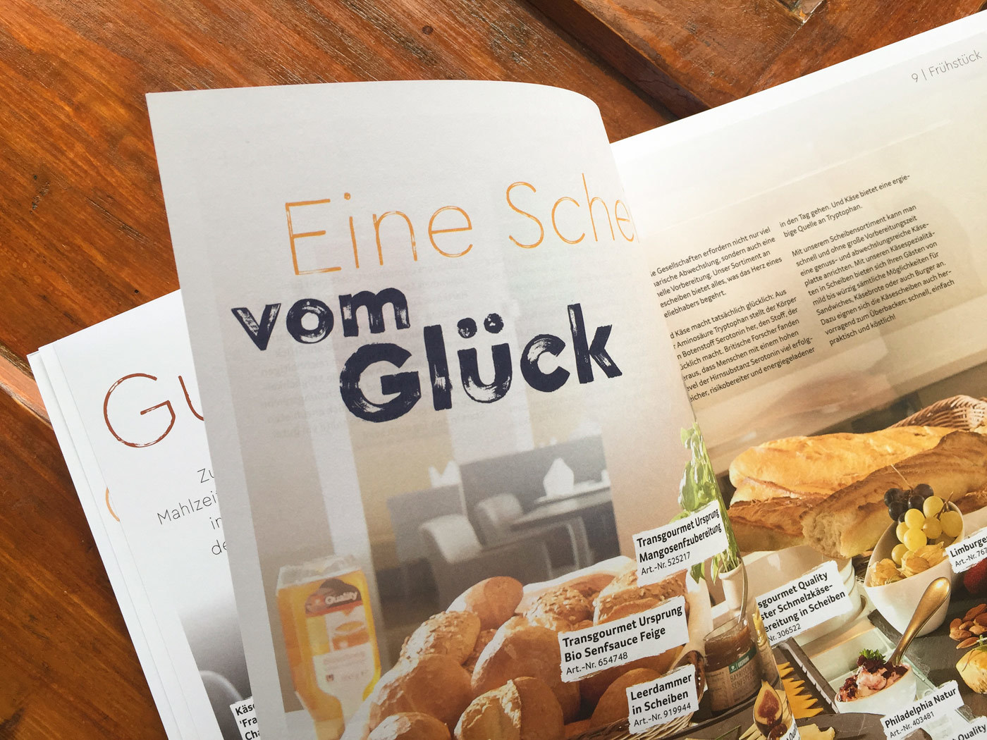 Fonts In Use Trans Gourmet Kaese Magazin Milk Design 07 Cera Brush