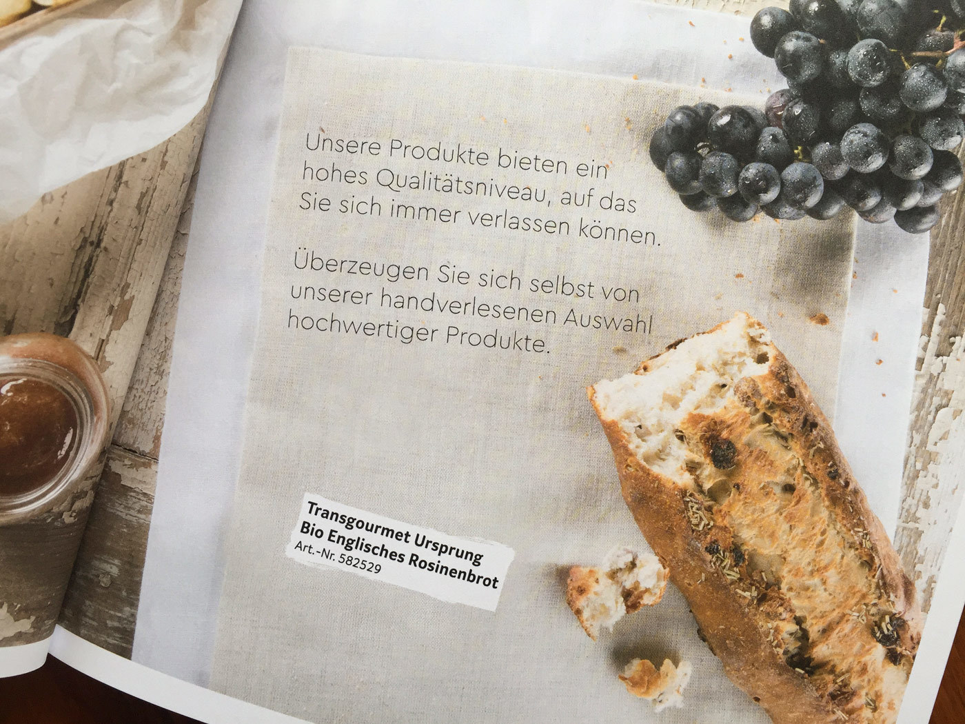 Fonts In Use Trans Gourmet Kaese Magazin Milk Design 13 Cera Brush