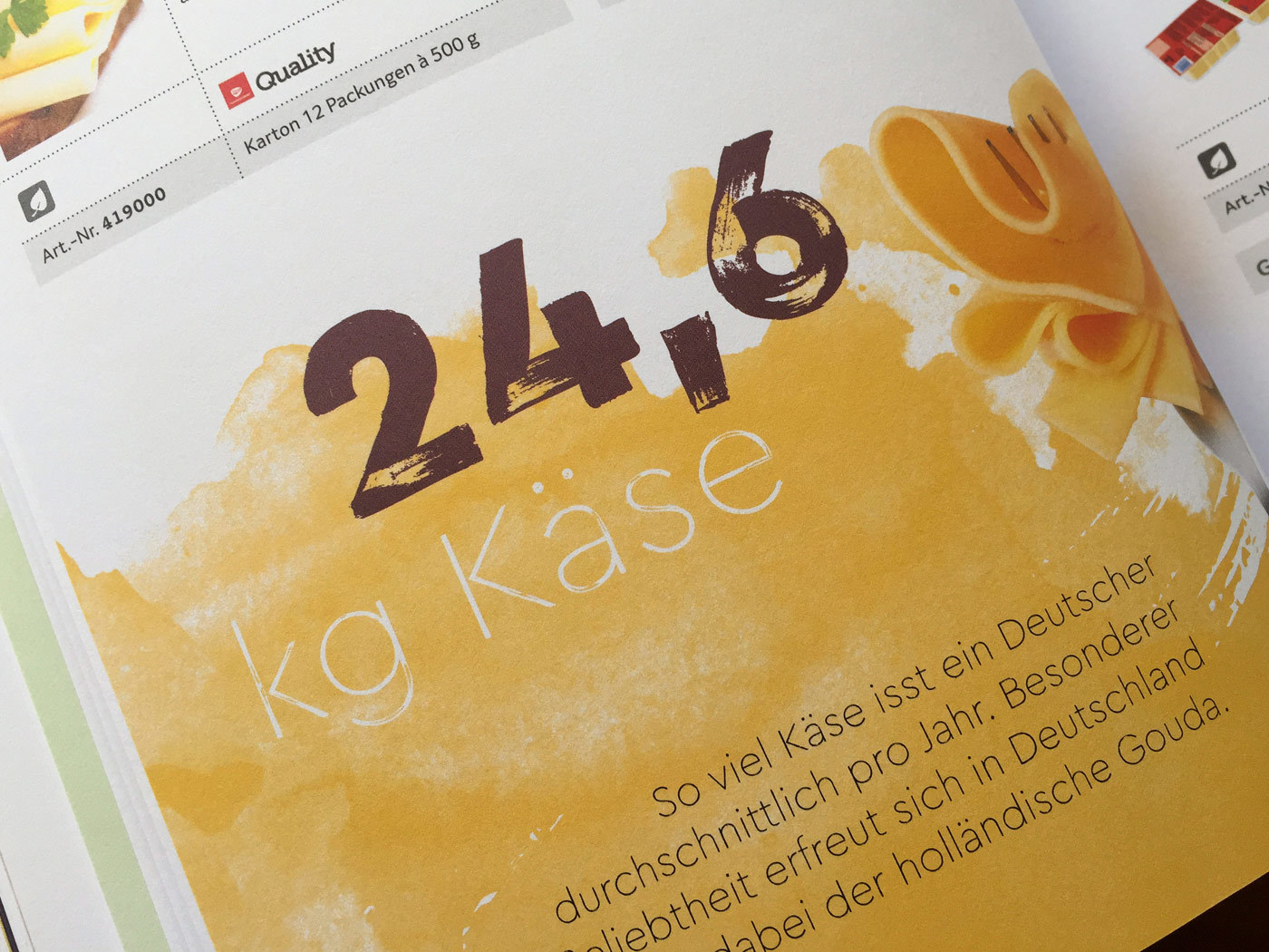 Fonts In Use Trans Gourmet Kaese Magazin Milk Design 17 Cera Brush