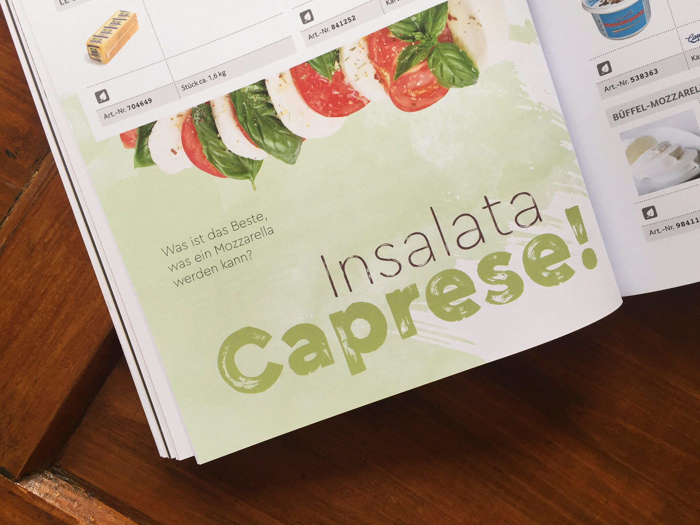 Fonts In Use Trans Gourmet Kaese Magazin Milk Design 18 Cera Brush