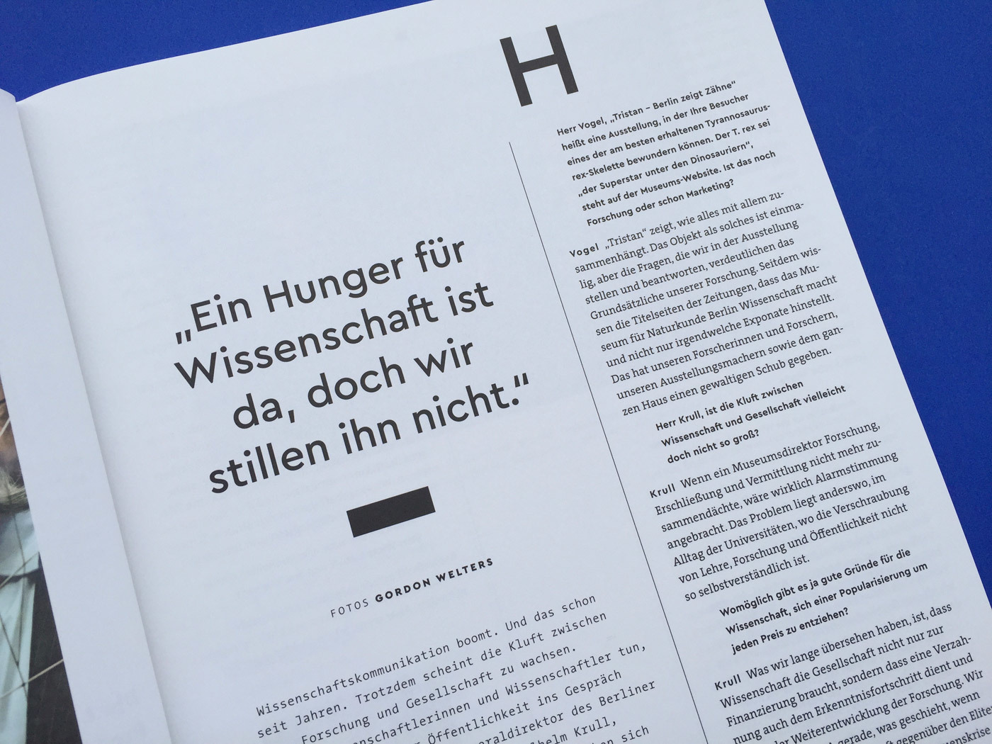 Fonts In Use Volkswagen Stiftung Magazin Corporate Publisher Territory 03 Cera Pro Thesis