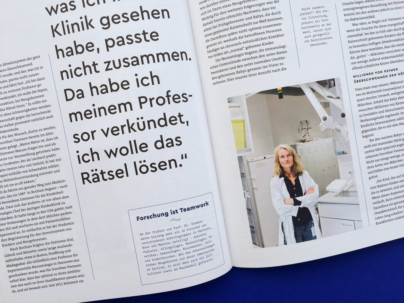 Fonts In Use Volkswagen Stiftung Magazin Corporate Publisher Territory 10 Cera Pro Thesis