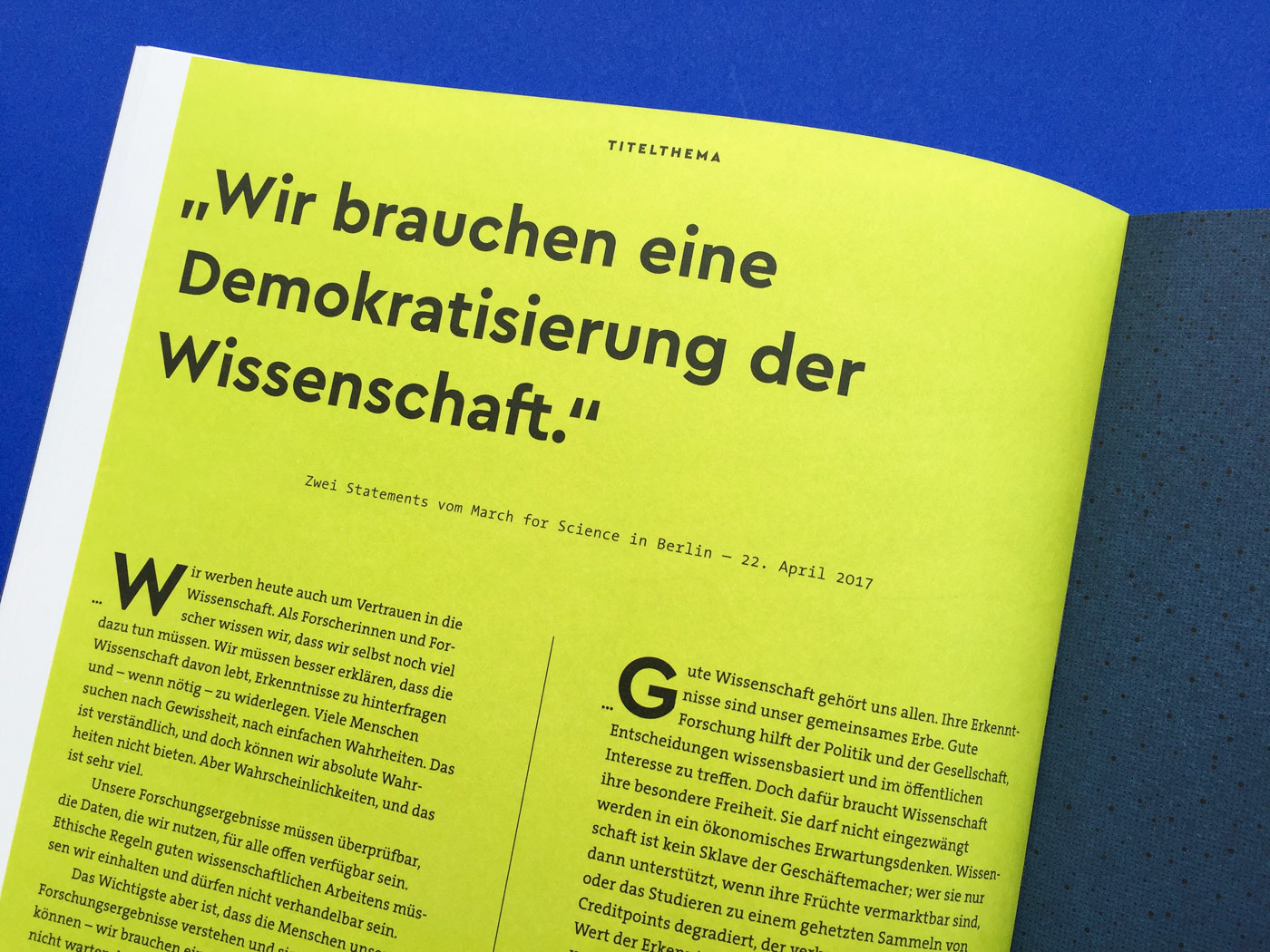 Fonts In Use Volkswagen Stiftung Magazin Corporate Publisher Territory 11 Cera Pro Thesis