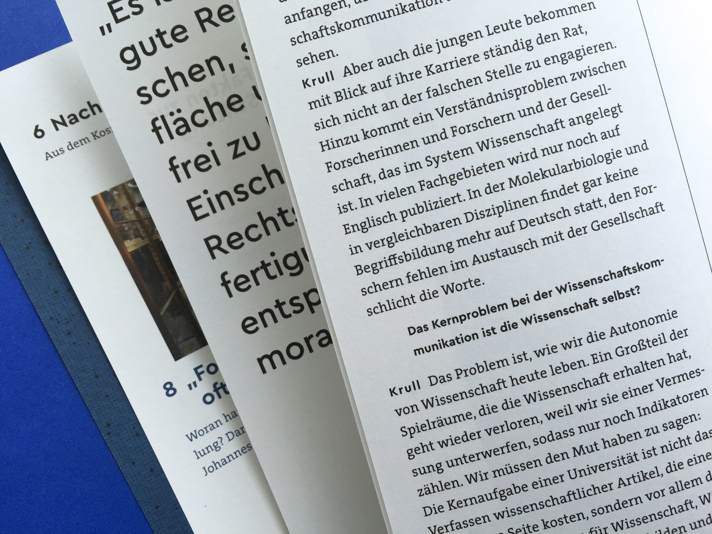 Fonts In Use Volkswagen Stiftung Magazin Corporate Publisher Territory 12 Cera Pro Thesis