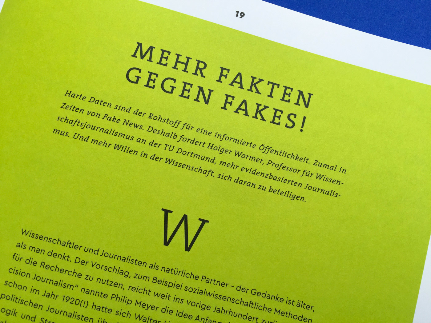 Fonts In Use Volkswagen Stiftung Magazin Corporate Publisher Territory 15 Cera Pro Thesis