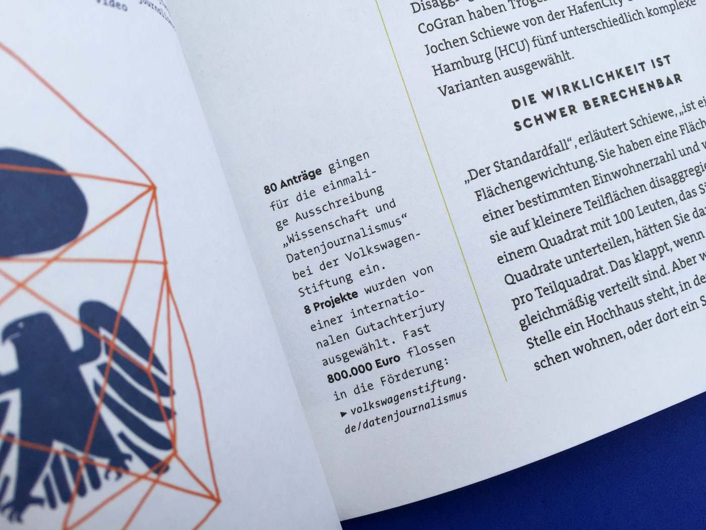 Fonts In Use Volkswagen Stiftung Magazin Corporate Publisher Territory 16 Cera Pro Thesis