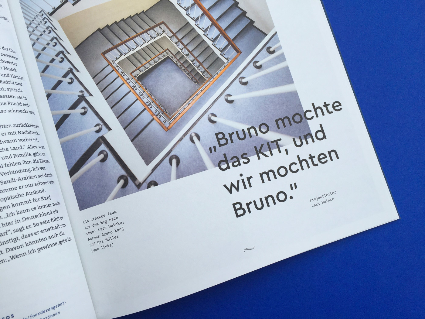 Fonts In Use Volkswagen Stiftung Magazin Corporate Publisher Territory 18 Cera Pro Thesis