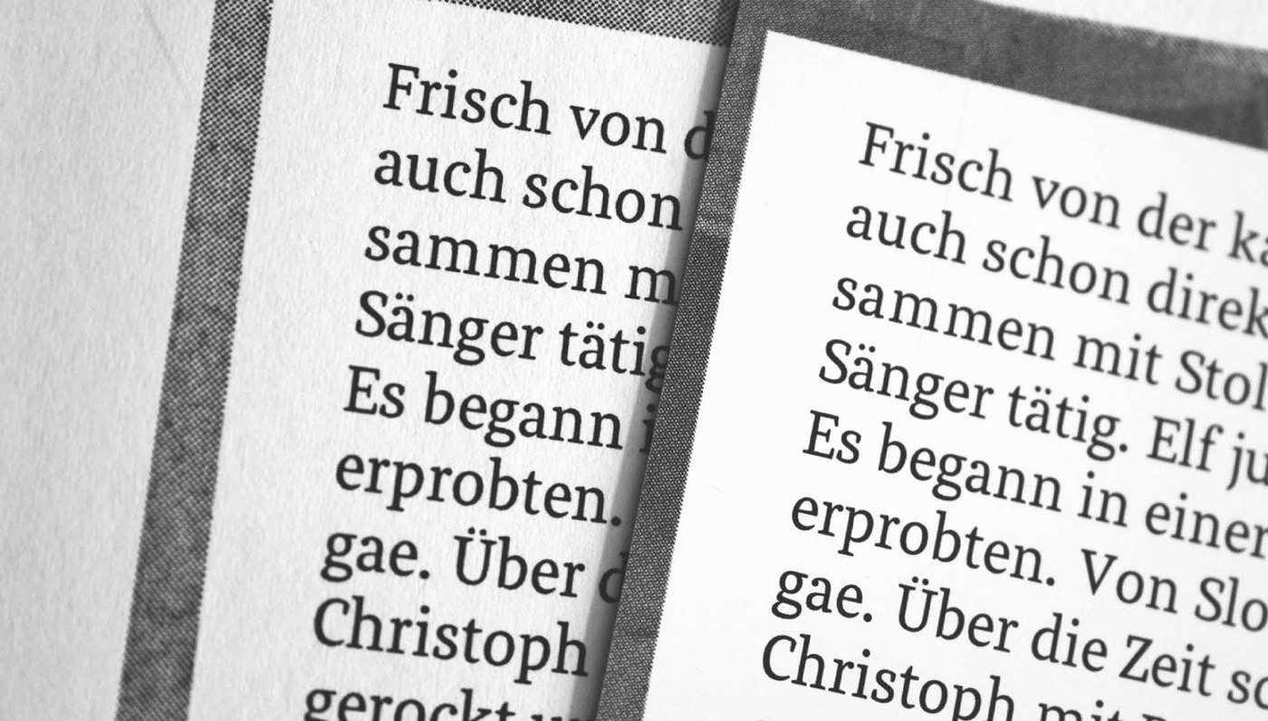Meret Pro Making Of Newspaper Magazine Editorial Typeface Typemates 18