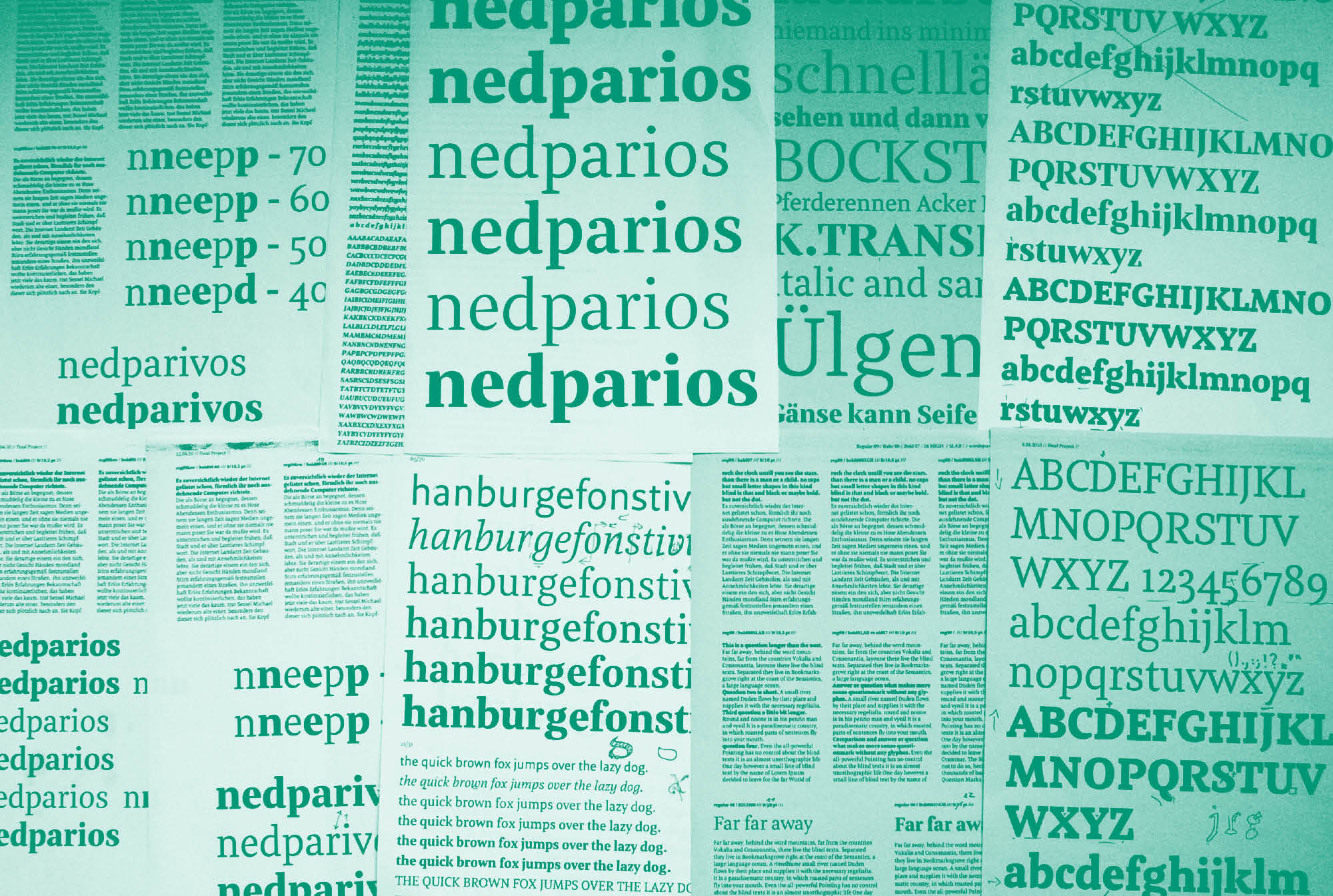 Meret Pro Making Of Newspaper Magazine Editorial Typeface Typemates 21