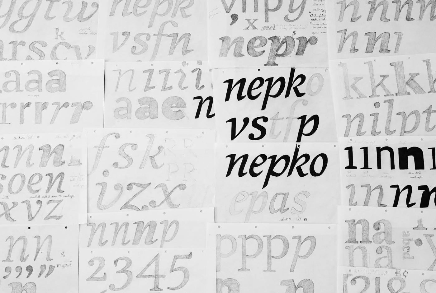 Meret Pro Making Of Newspaper Magazine Editorial Typeface Typemates 25