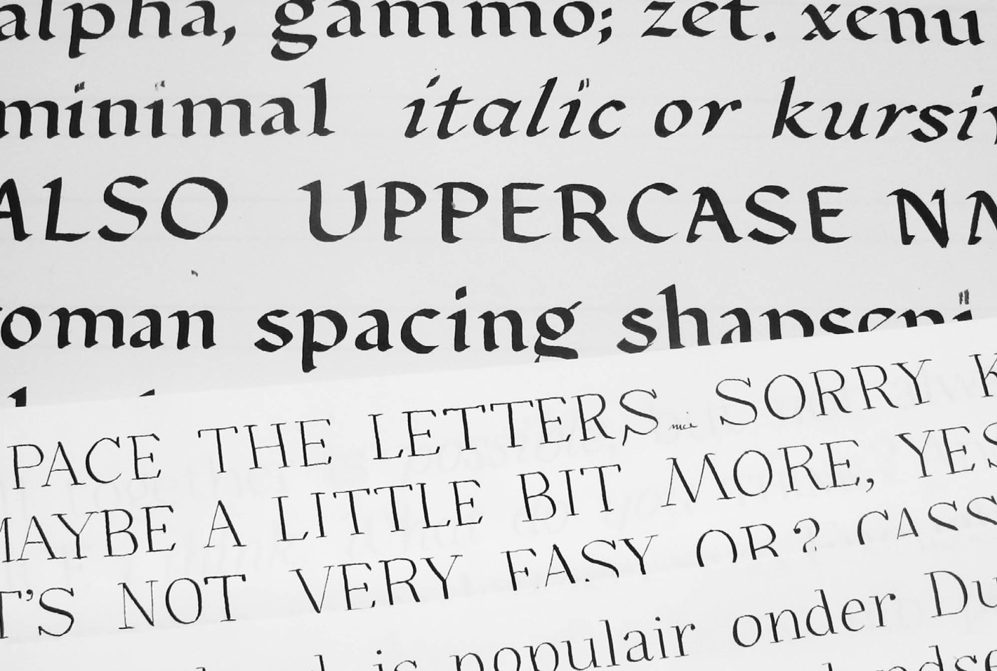 Meret Pro Making Of Newspaper Magazine Editorial Typeface Typemates 3