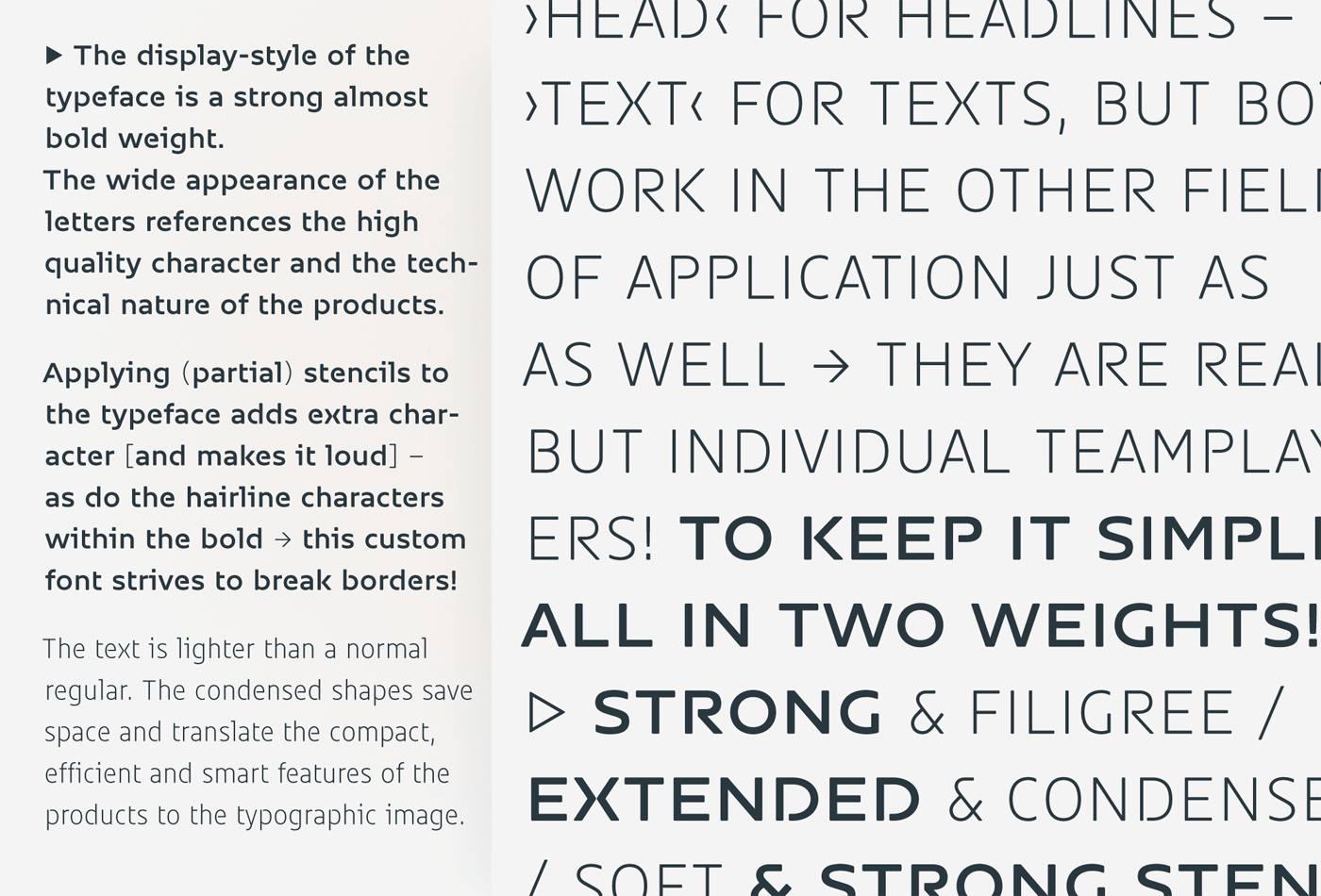 Sam Corporate Font Type Mates 03
