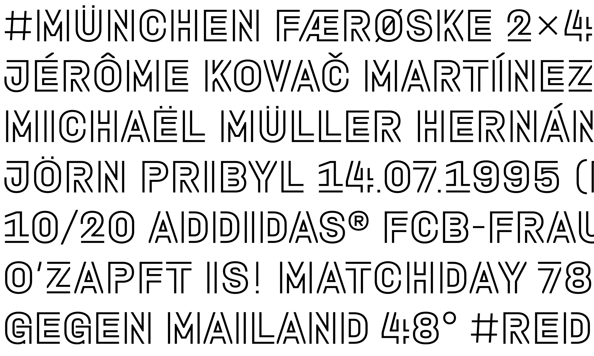 Type Mates Custom Font Fcbayern Muenchen Sports Interbrand 06