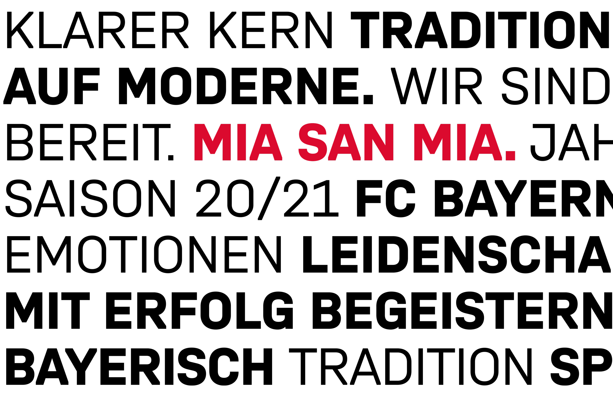 Type Mates Custom Font Fcbayern Muenchen Sports Interbrand 07