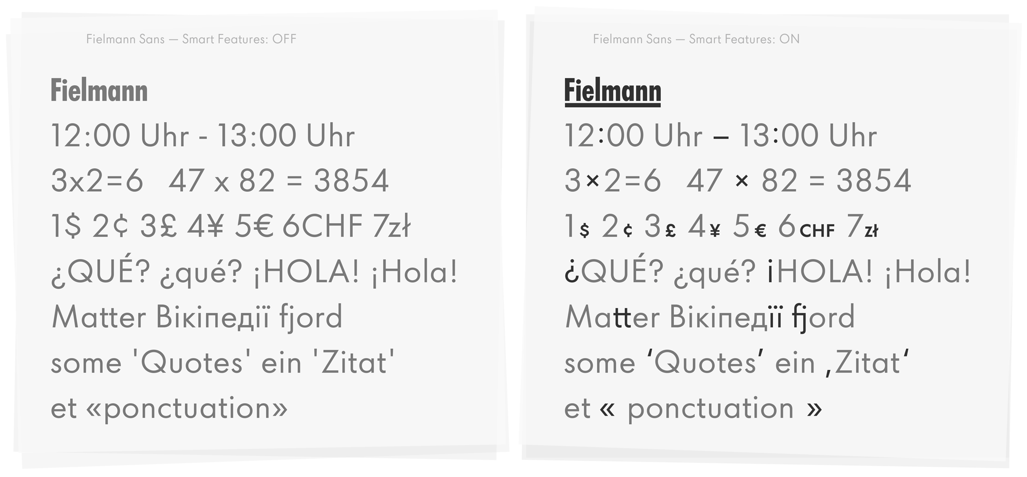 Type Mates Custom Font Fielmann Futura 05 Smart Typography