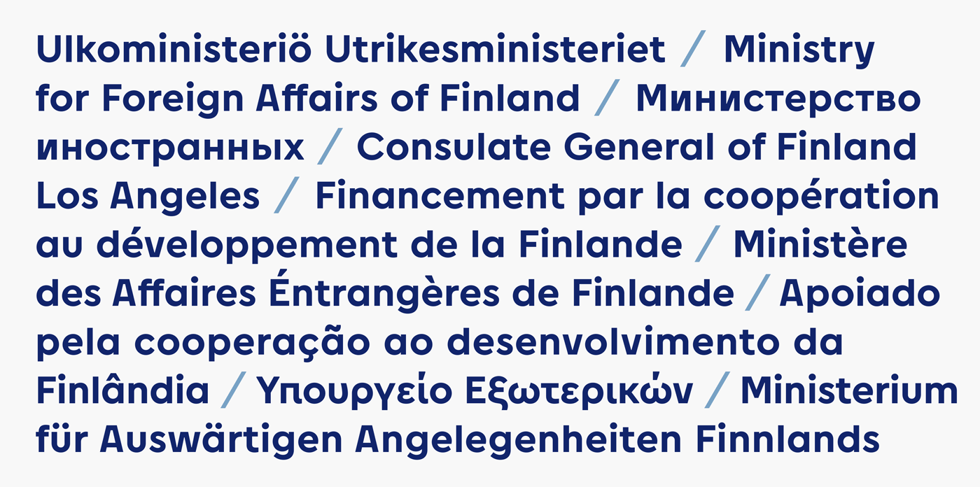 Type Mates Custom Fonts Modified Cera Pro Ministry For Foreign Affairs Finland 8