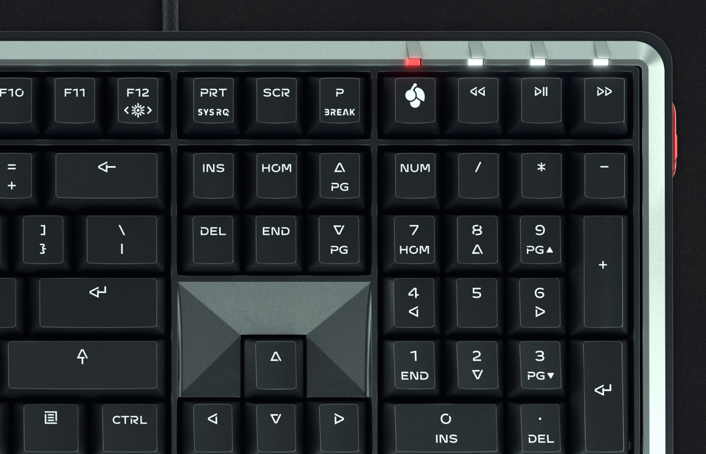 Type Mates Custom Typeface Cherry Mx Key Board50 Doubleshot Gaming Font06