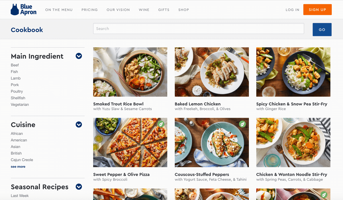 Type Mates Fonts In Use Blue Apron 06 Cera Pro