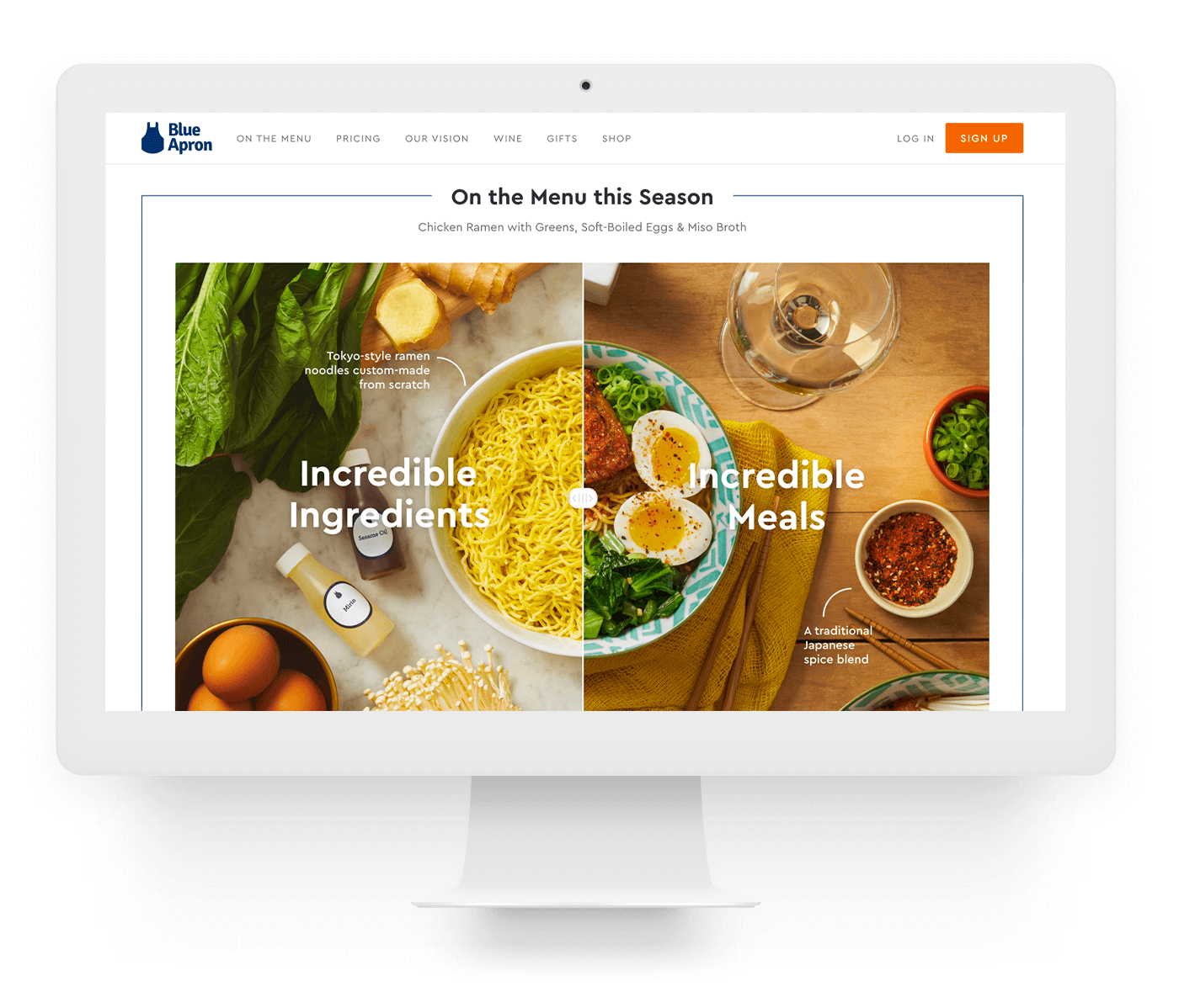 Type Mates Fonts In Use Blue Apron 11 Cera Pro