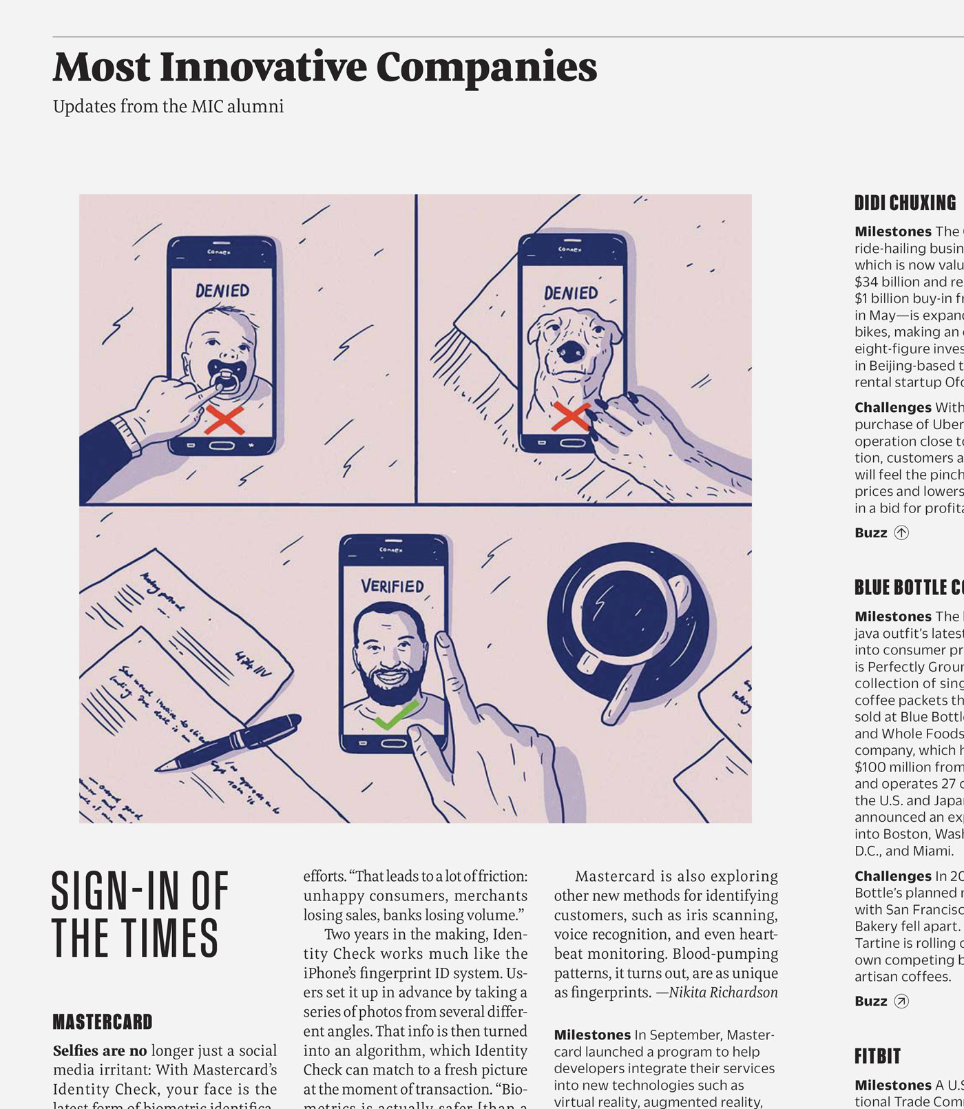 Type Mates  Fonts In Use Fast Company Magazine 02 Meret Pro