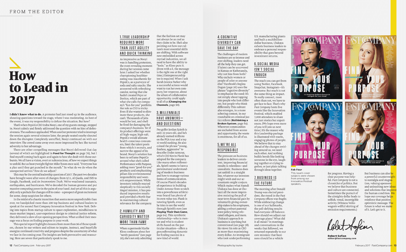 Type Mates Fonts In Use Fast Company Magazine 06 Meret Pro