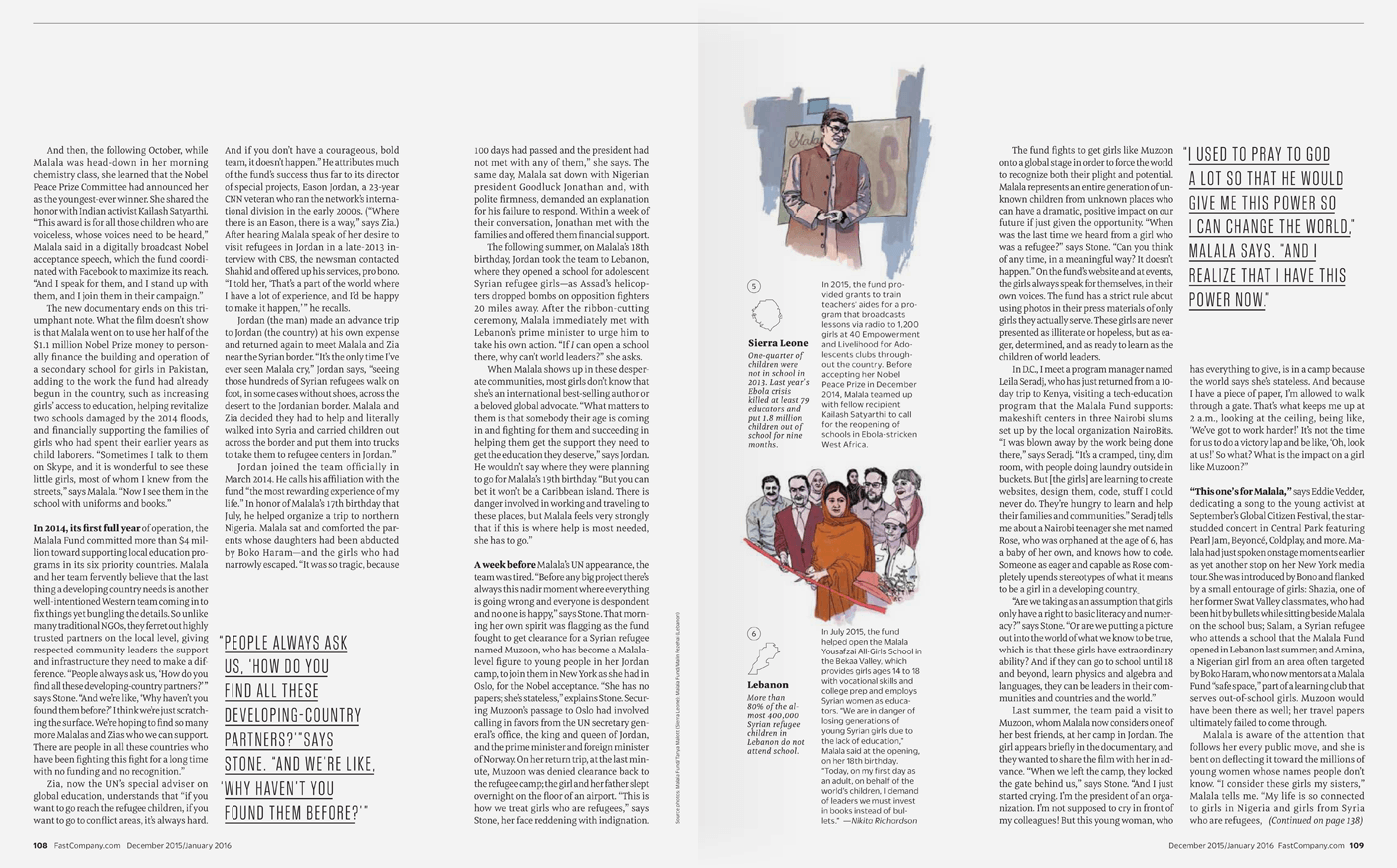 Type Mates Fonts In Use Fast Company Magazine 11 Meret Pro