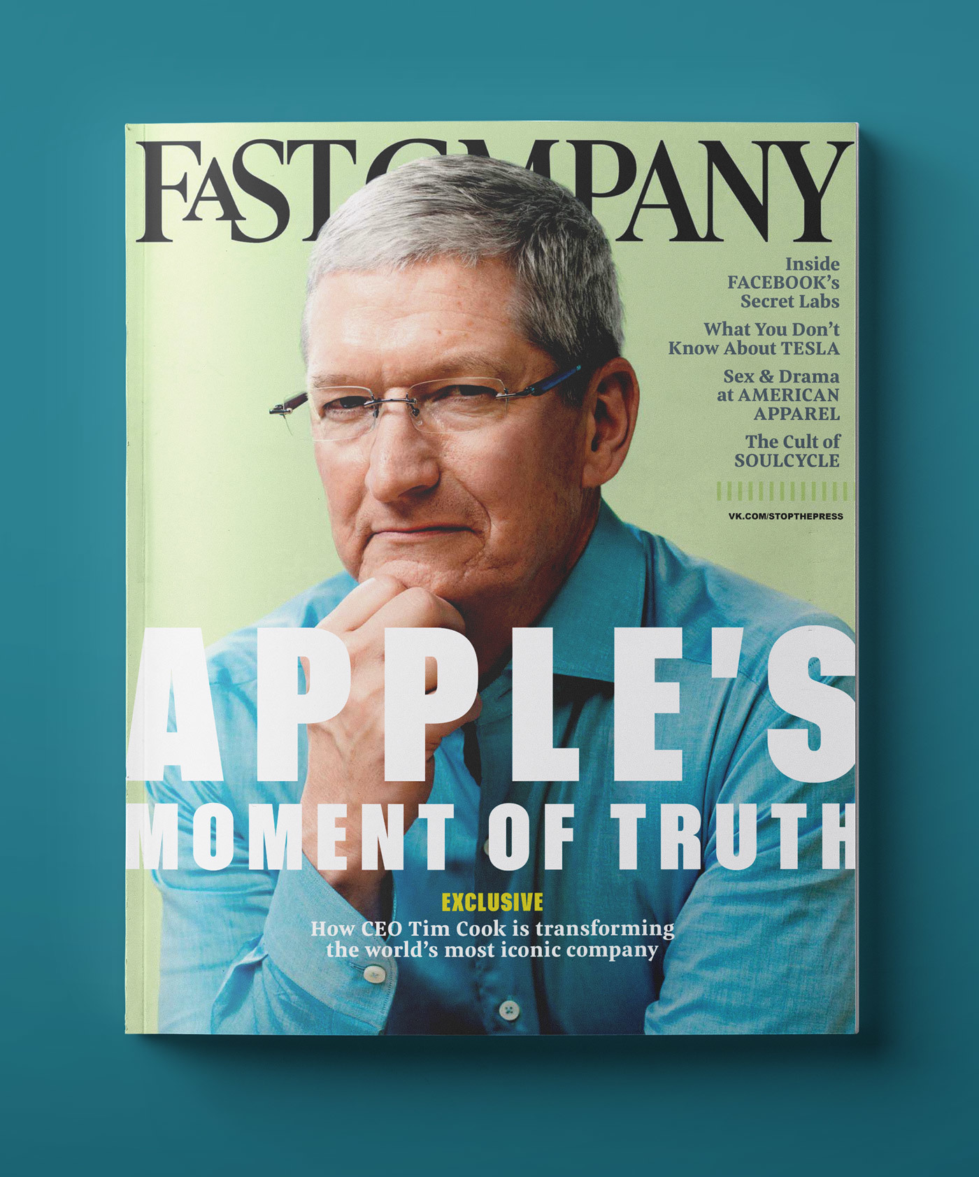 Type Mates Fonts In Use Fast Company Magazine 12 Meret Pro