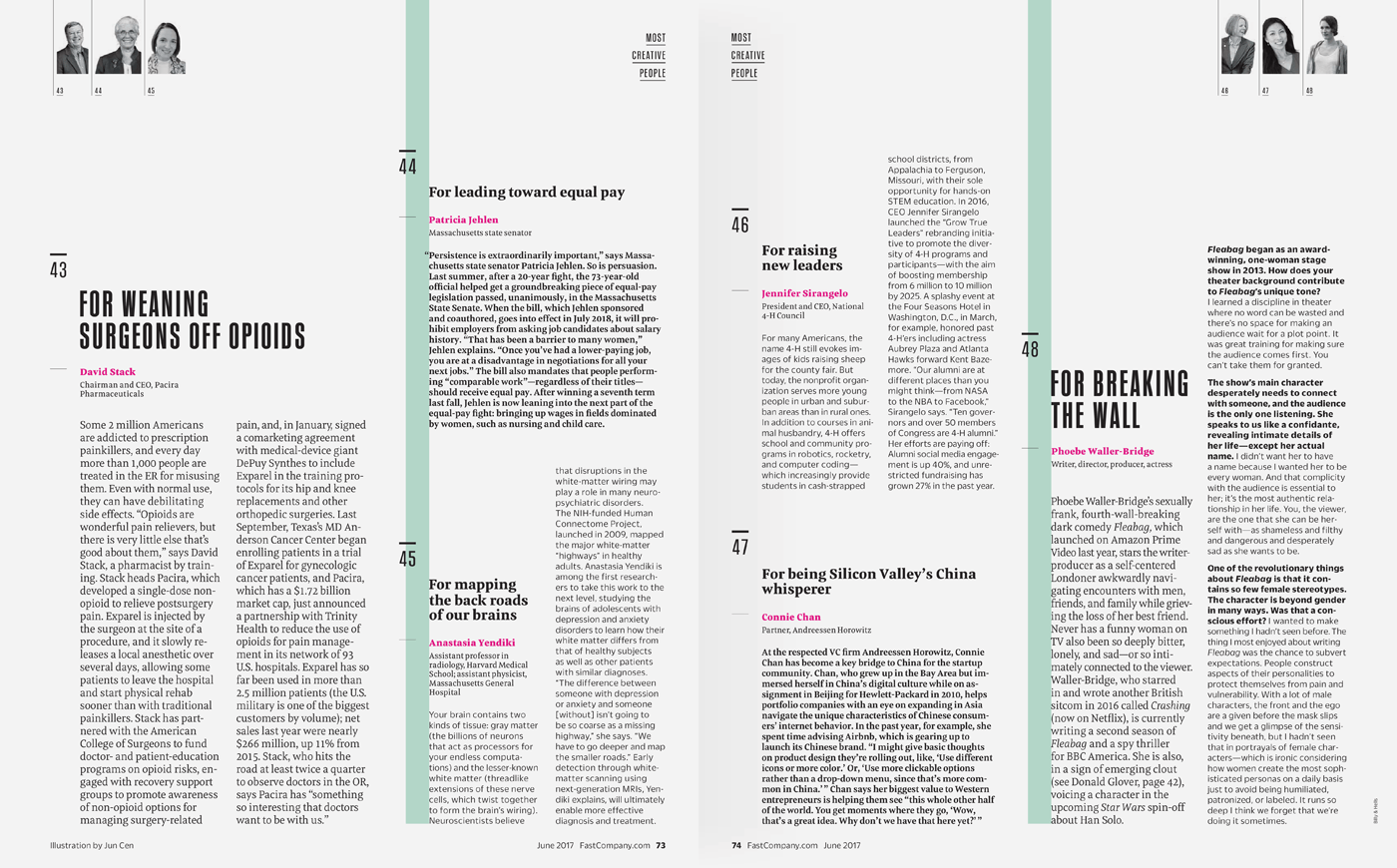 Type Mates Fonts In Use Fast Company Magazine 13 Meret Pro