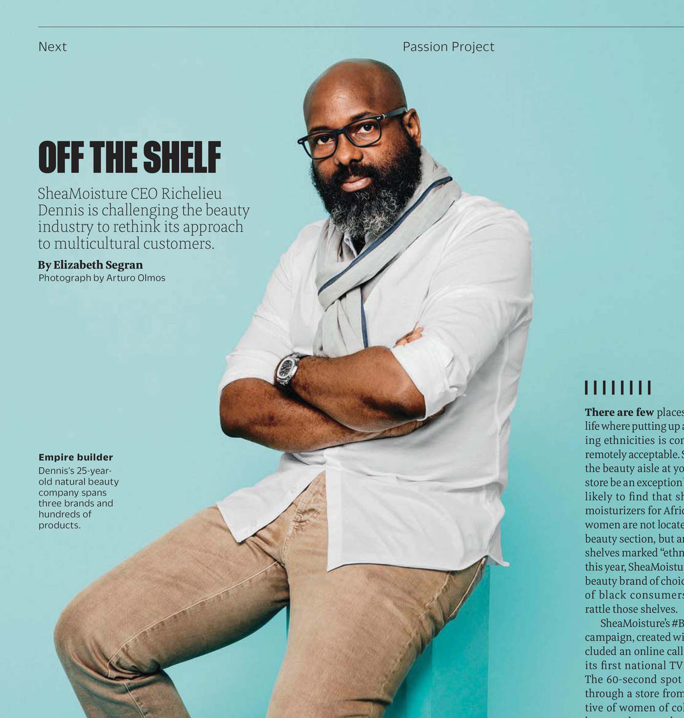 Type Mates Fonts In Use Fast Company Magazine 14 Meret Pro
