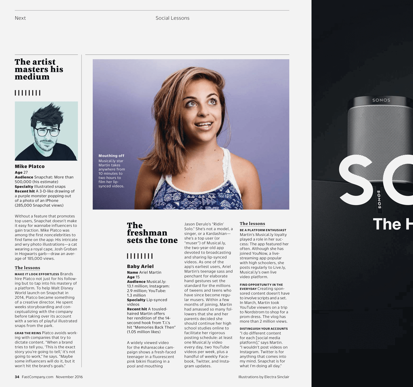 Type Mates Fonts In Use Fast Company Magazine 16 Meret Pro