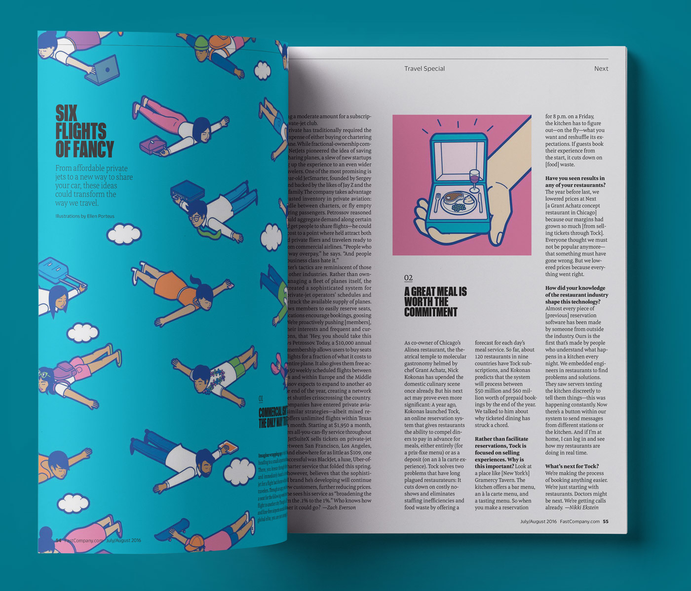 Type Mates Fonts In Use Fast Company Magazine 18 Meret Pro