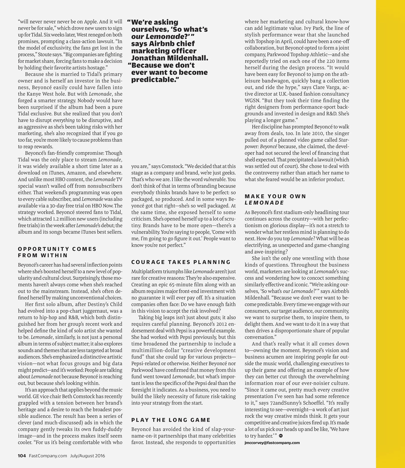 Type Mates Fonts In Use Fast Company Magazine 19 Meret Pro