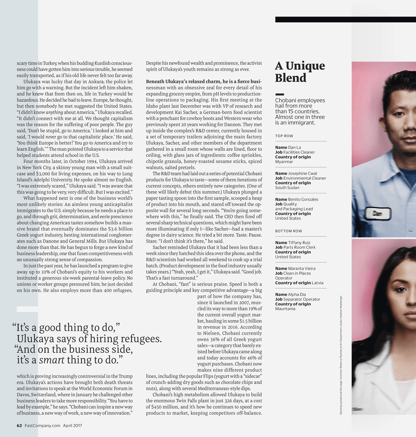 Type Mates Fonts In Use Fast Company Magazine 22 Meret Pro