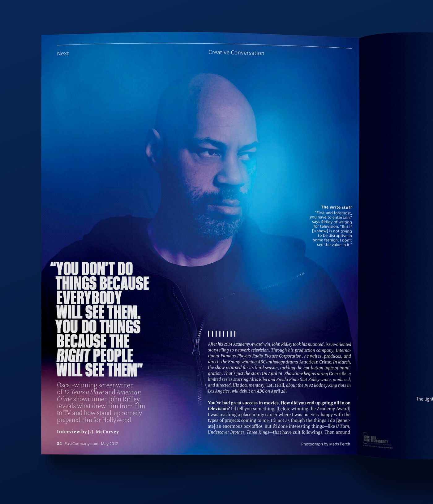 Type Mates Fonts In Use Fast Company Magazine 23 Meret Pro