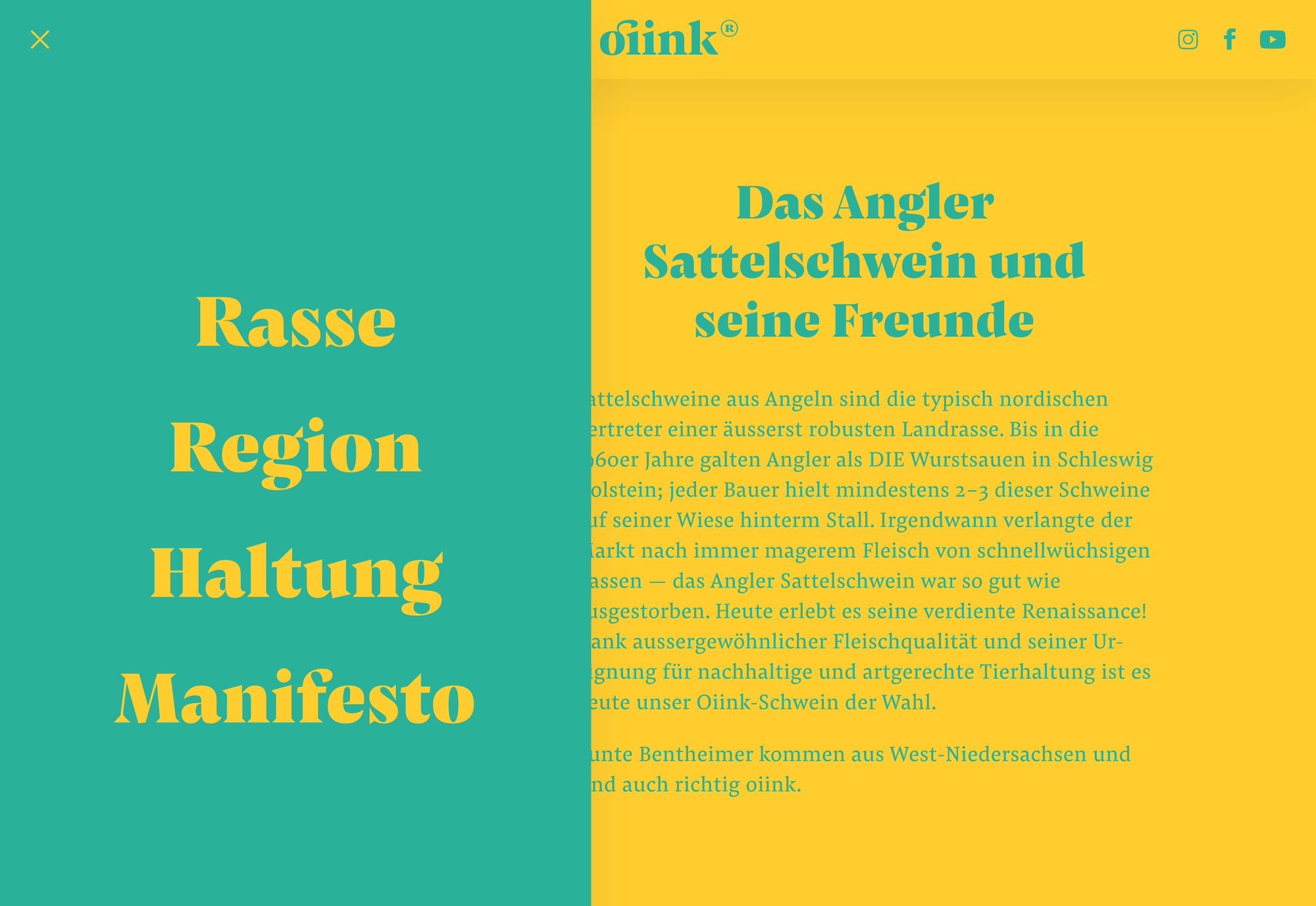 Type Mates Fonts In Use Oiink Website Mutabor 06 Pensum Text Pensum Display