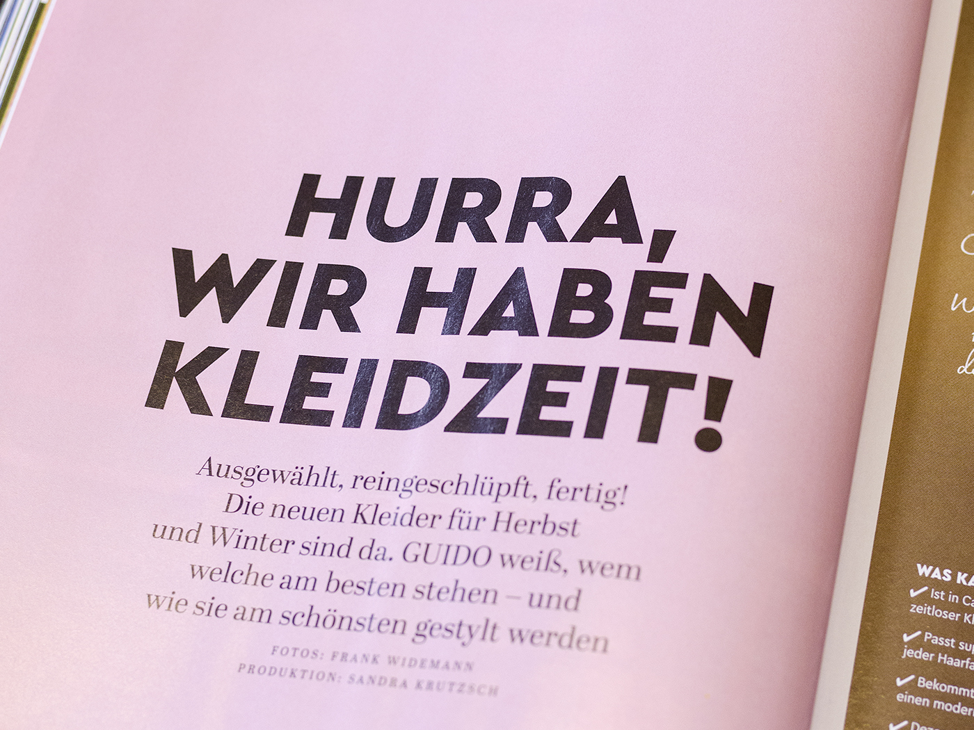 Type Mates In Use Guido Maria Kretschmer Fashion Magazine Gruner Jahr 05 Cera Pro Cera Compact