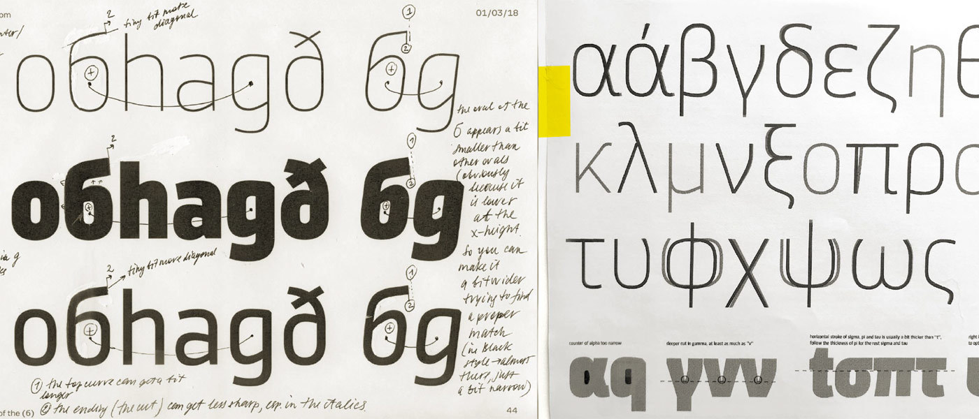 Type Mates Sinews Sans Pro Making Of 03 Grrek And Cyrillic Consulting