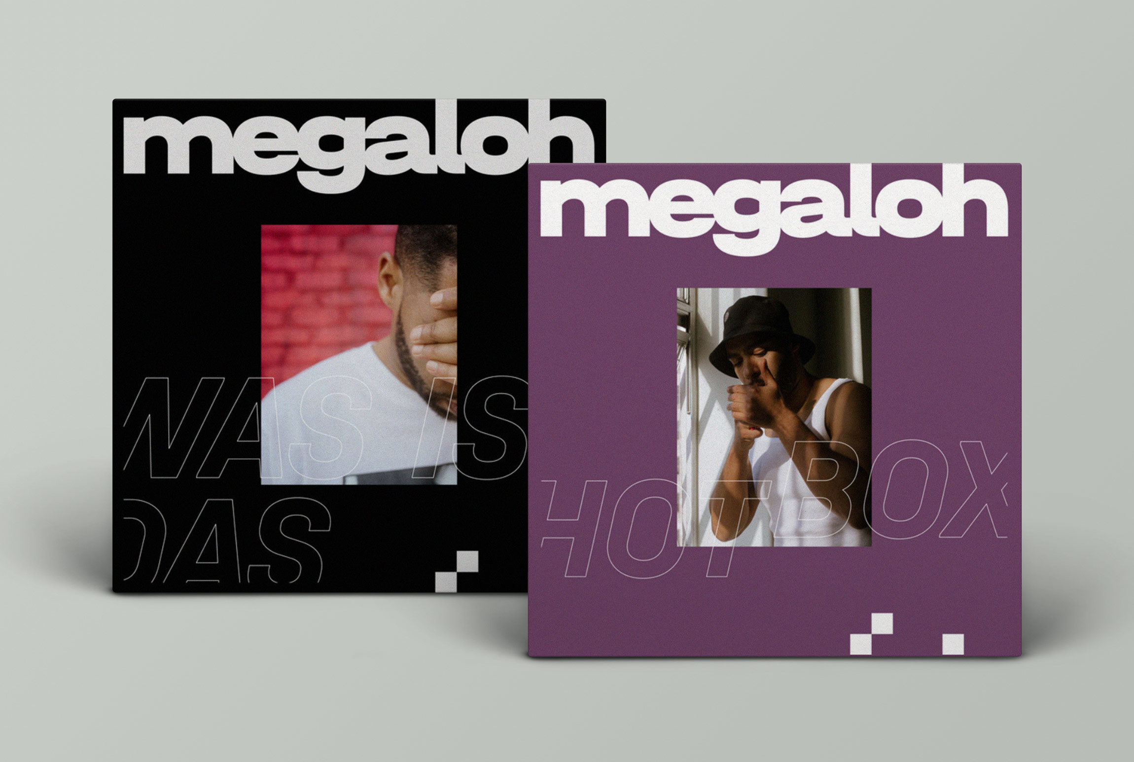 Type Mates Fonts In Use Megaloh Music Artwork Zentrale Graphics 08 Halvar Breitschrift Engschrift Singles