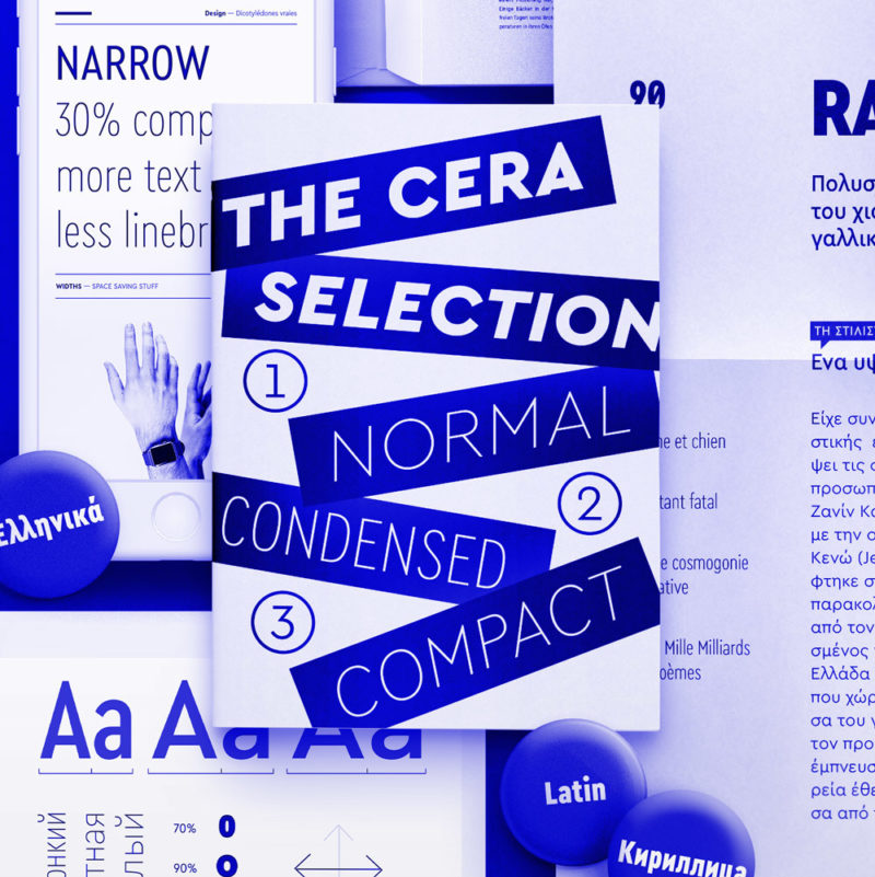 Type Mates Collection Cera Selection Condensed Compact Normal width Thumbnail