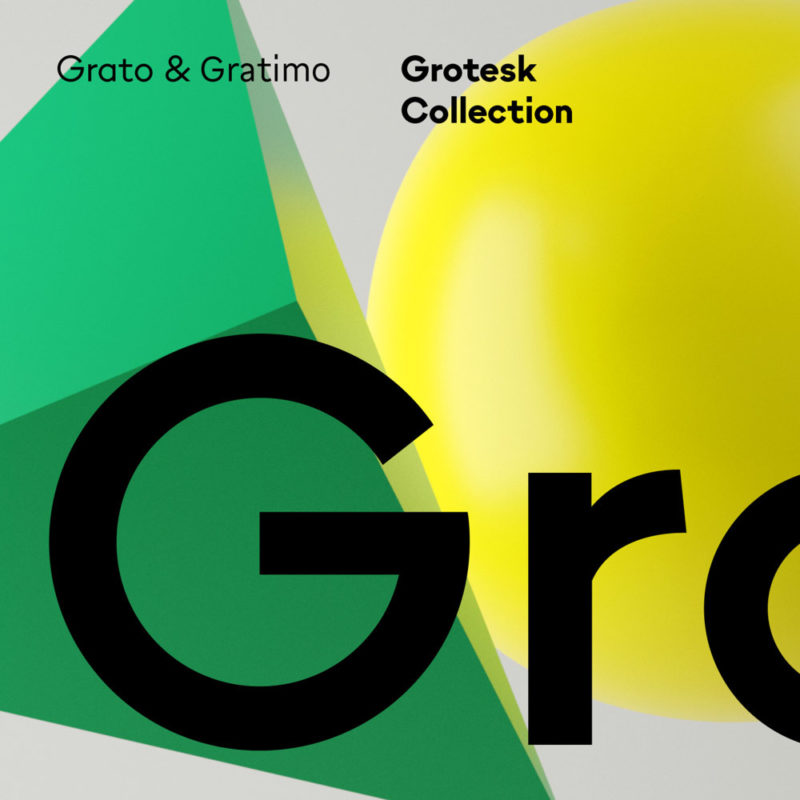 Type Mates Grotesk Collection Typeface Grato Gratimo Thumb