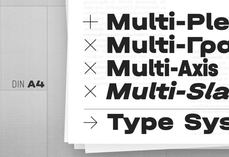 Type Mates Simulated Fonts In Use Typeface 02 Halvar Breitschrift