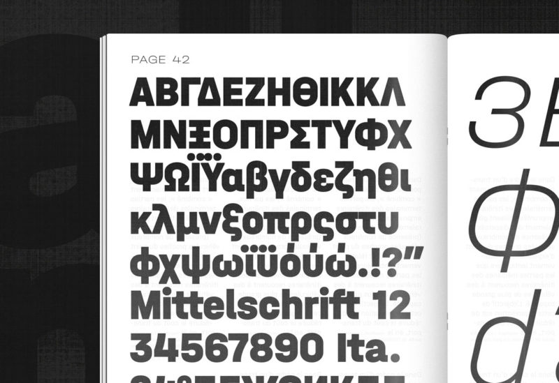 Type Mates Simulated Fonts In Use Typeface 02 Halvar Mittelschrift
