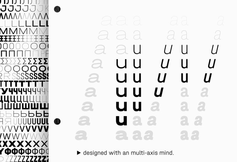 Type Mates Simulated Fonts In Use Typeface 03 Frutiger Univers Halvar Mittelschrift