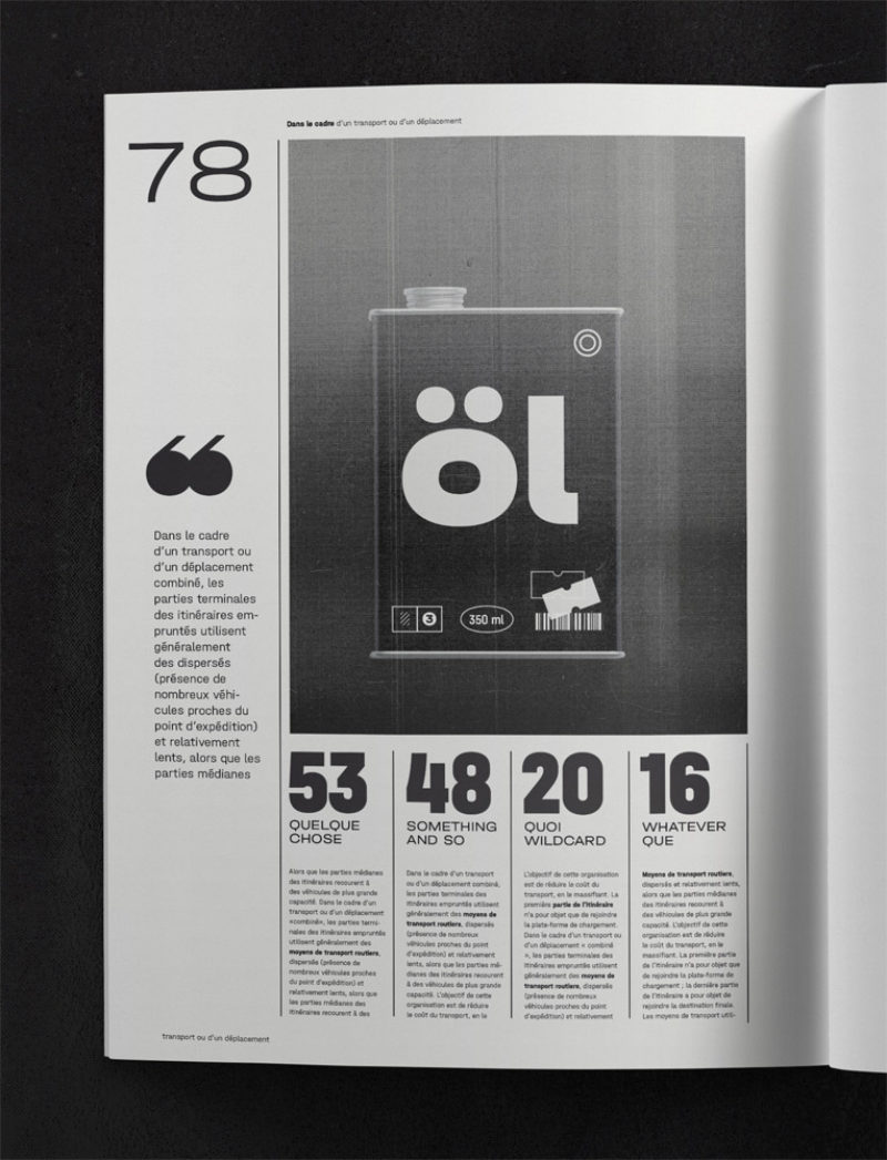 Type Mates Simulated Fonts In Use Typeface 06 Magazine Halvar Engschrift