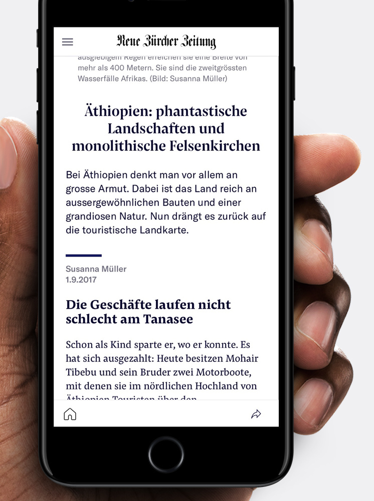 Type Mates Fonts In Use Neue Zuericher Zeitung Eden Spiekerman Pensum Pro Pensum Display Screen Reading