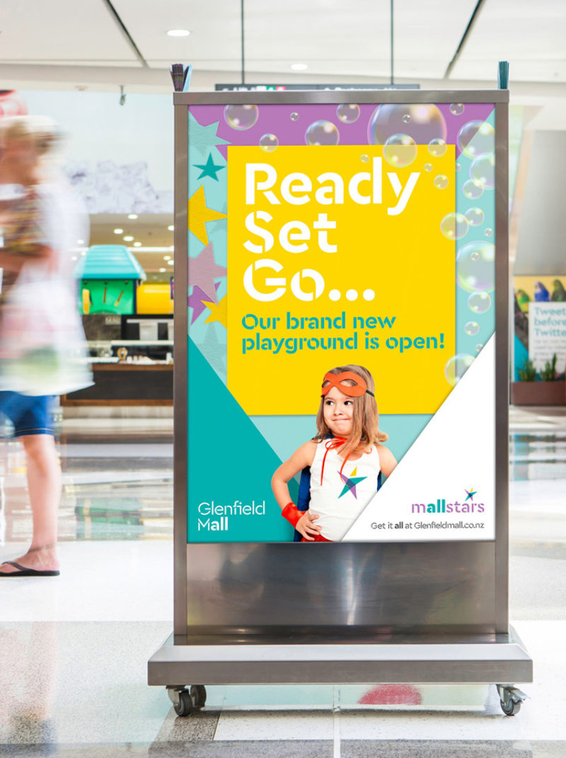 Type Mates Fonts In Use Glenfield Mall Promo Cera Stencil Pro