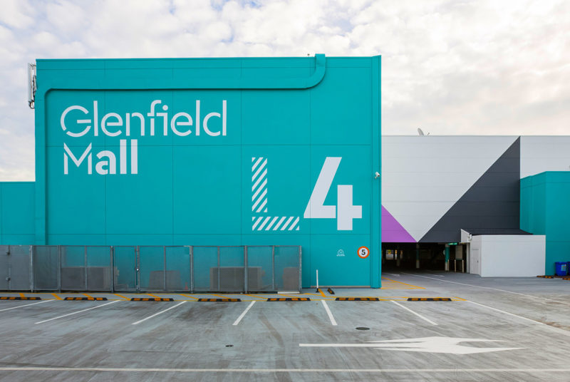Type Mates Fonts In Use Glenfield Mall Sign Cera Stencil Pro