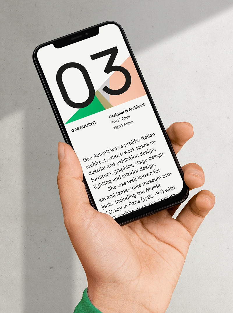 Type Mates Simulated Fonts In Use Geometric Sans Gratimo Grotesk3 Mobile Design